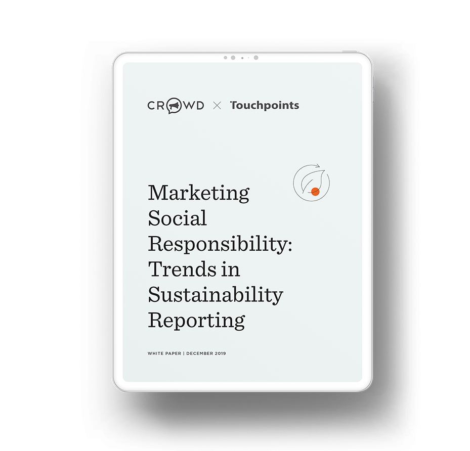 Marketing Social Responsibility: Trends in Sustainability Reporting