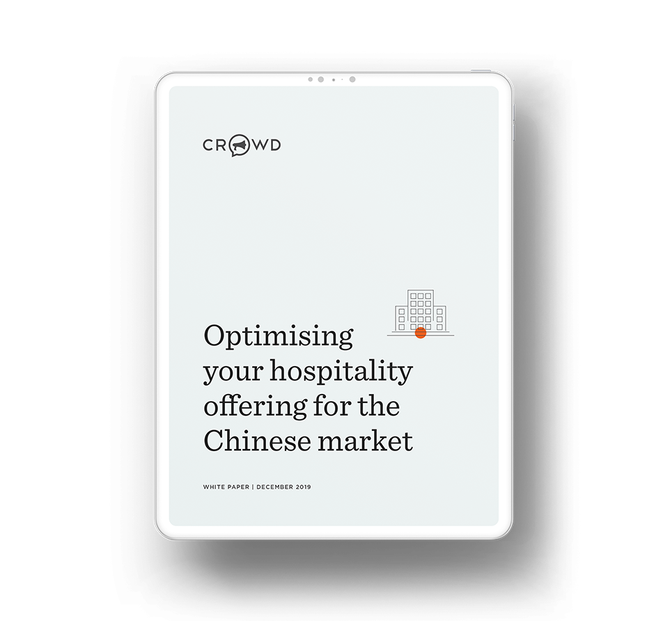 Optimising your hospitality offering for the Chinese market